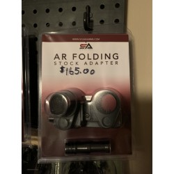 FOLDING STOCK ADAPTER FOR AR'S